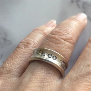 T&Co. 1837 Sterling Silver Ring